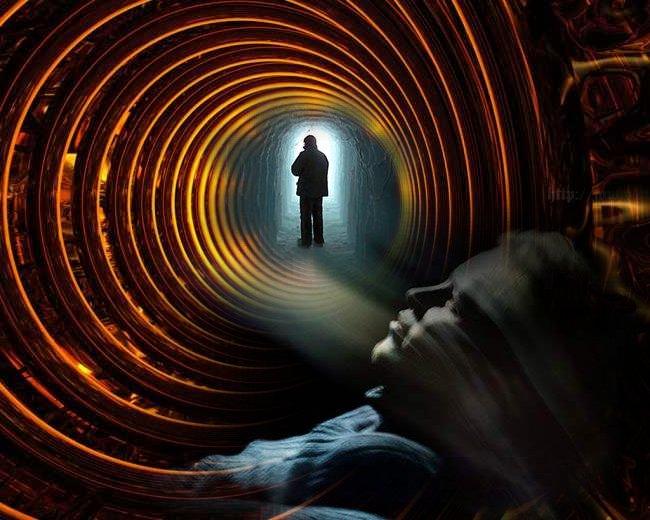 Ils ont vu la lumière!  Hallucination ou incursion dans l'au-delà?