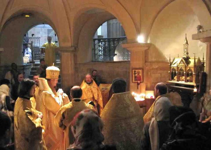 INVENTION ORTHODOXE DES RELIQUES DE Sainte HELENE