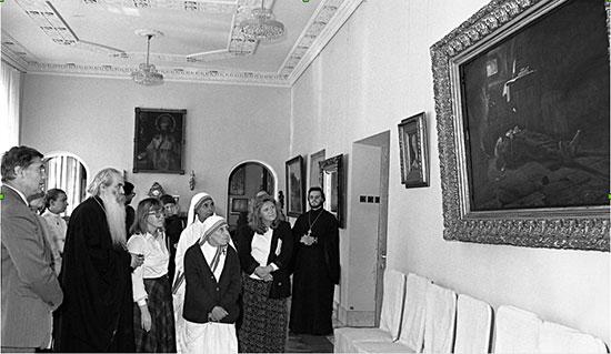 Une exposition de photos dédiée à la charité en Russie s'est ouverte à Rome