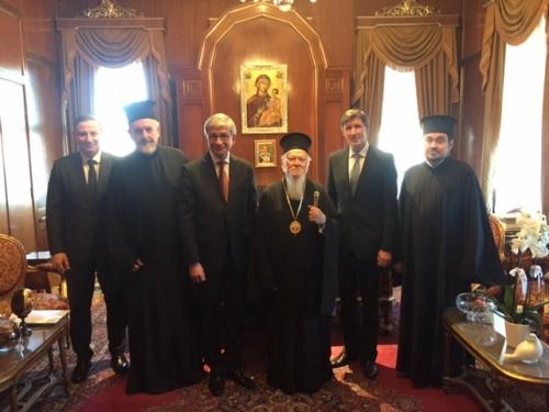 Eugène Czolij  appelle à nouveau le patriarche Bartholomé à reconnaître le schisme ecclésial en Ukraine