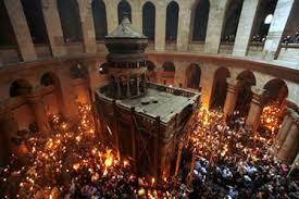 Jérusalem: LES ANATHÈMES DU SAINT SÉPULCRE