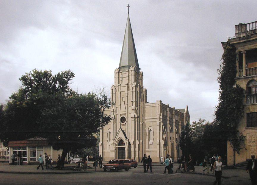 Crimée: Bientôt il y aura de nouveau une église catholique au centre de Sébastopol