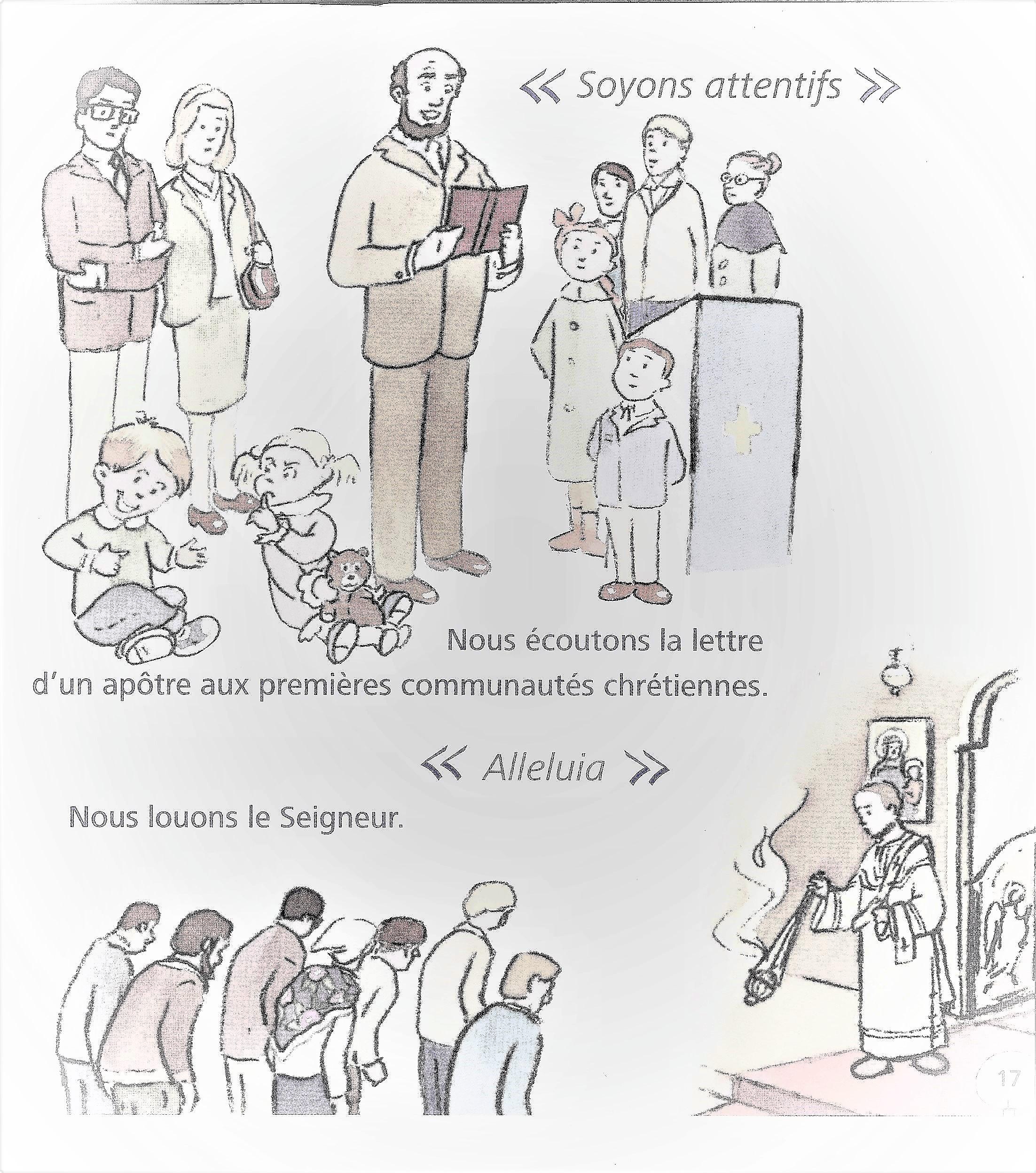 COURS DE CATÉCHISME ORTHODOXE POUR ENFANTS: LA DIVINE LITURGIE