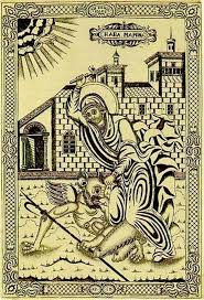 Sainte Marina la grande martyre du III siècle, fêtée le 17/30 juillet