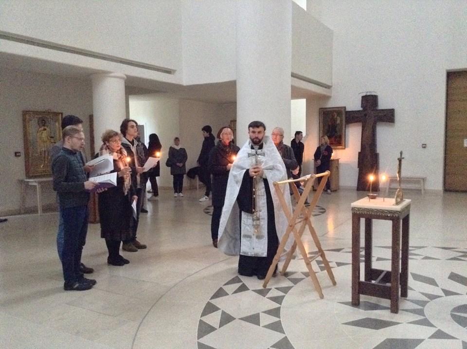 Nous avons prié pour les âmes des victimes de la répression soviétique +