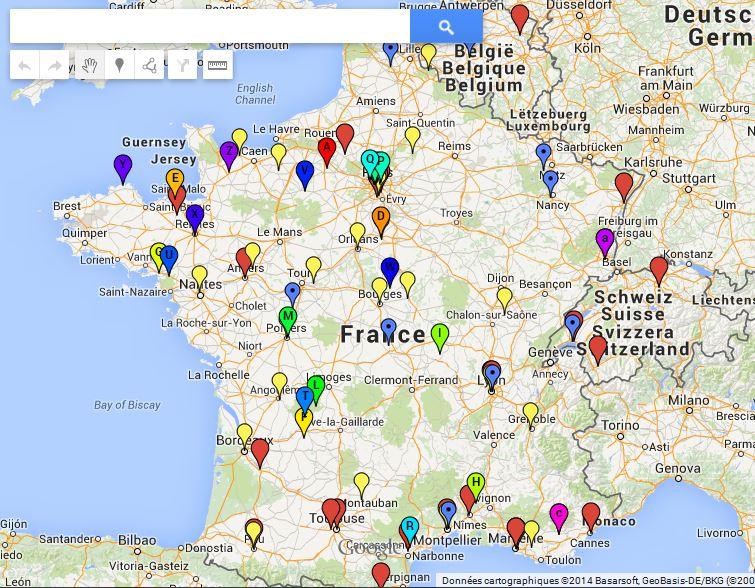 PAROISSES NON CANONIQUES EN FRANCE