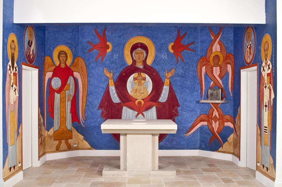Emilie van Taack, une iconographe française. Les fresques du séminaire russe d'Epinay sous Sénart