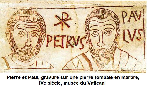Fête des saints apôtres Pierre et Paul le 29 juin/12/juillet