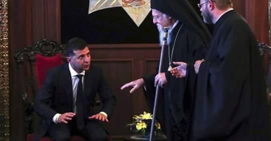 L'Eglise d'Ukraine, nouvellement constituée, envisage de remplacer le métropolite Epiphane actuellement à sa tête