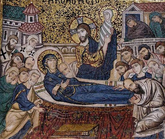 """""""La Mère de Dieu s'est endormie, la Pâque d'été""""..."""