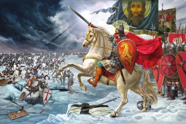 Saint Alexandre de la Neva ou Alexandre Nevsky (1220 - 1263)