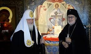 Le patriarche Cyrille à propos de la réunification des trois branches de l'Eglise russe