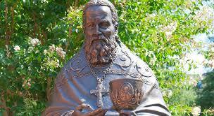 Lors de la célébration du 70ème anniversaire de la paroisse russe de Washington, un monument à Saint-Jean de Cronstadt a été inauguré
