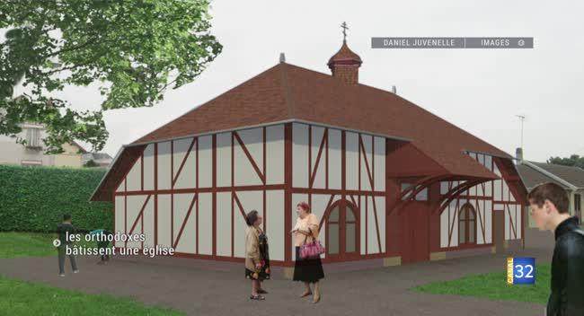 Saint André les Vergers: un premier office dans la nouvelle église orthodoxe