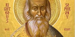 Le patriarche Bartholomé annonce le début du processus de canonisation  de l'archimandriteSophronySakharov (1896 -1993)