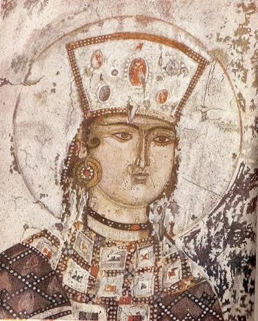 Sainte Tamara reine de Géorgie 1160- 1212