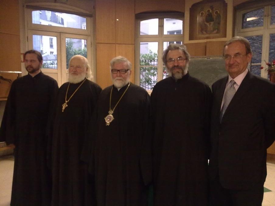 Gueorguy : Recueil d'impressions de la table ronde N°9 de l'OLTR « Les défis de l'enseignement religieux et théologiques dans l'orthodoxie russe »