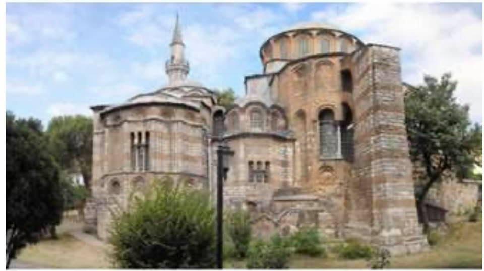 Carol Saba: Turquie, l'église byzantine de la Chora  reconvertie en mosquée