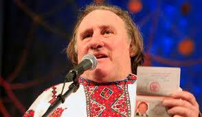 Un Chemin de vie particulier: Baptême orthodoxe de l'acteur Gérard Depardieu