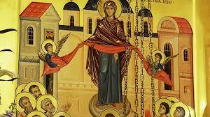 Fête de la Protection de la Très Sainte Mère de Dieu: Les textes liturgiques en français
