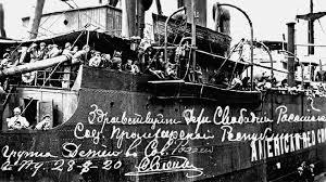 Voyage vers l'inconnu 800 enfants russes pendant la guerre civile