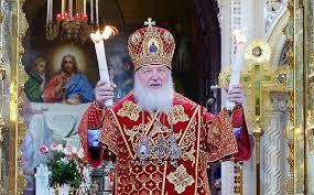 Message pascal du Patriarche CYRILLE de Moscou et de toutes les Russies