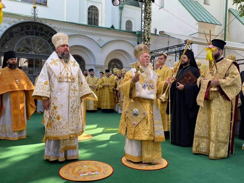 Le patriarche Bartholomée s'est exprimé à Kiev il a accusé plusieurs Églises orthodoxes locales