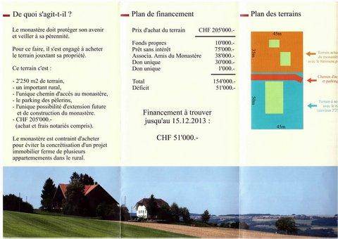 Monastère de la Sainte-Trinité - Suisse (Dompierre)