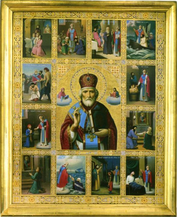 Le vrai visage de saint Nicolas de Myre