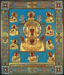 Paris, le vendredi 31 juillet  visite de l'Icône de la Très Sainte Mère de Dieu de la racine de Koursk