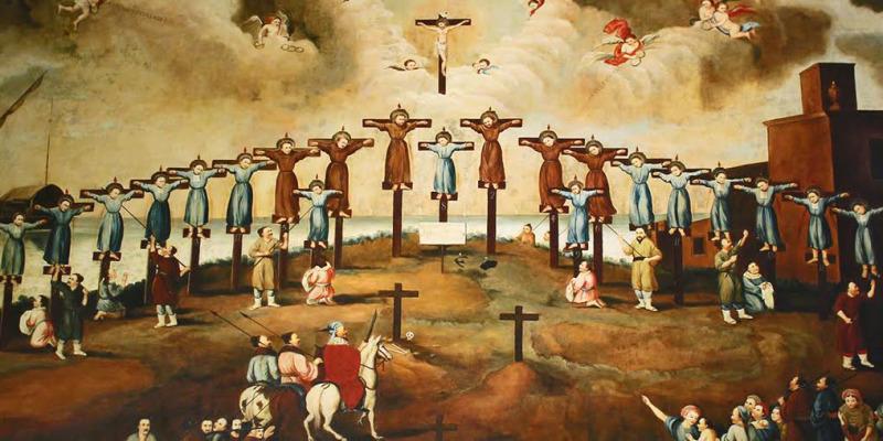 Au Japon, ouverture d'une exposition consacrée aux martyrs chrétiens