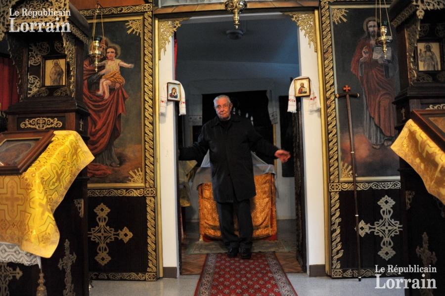 Nilvange: C'est une chapelle discrète mais bien vivante.