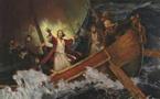 Un navire à la coque trouée de brèches dans un océan de passions