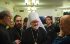 Le chef de l'Archevêché des Eglises orthodoxes de tradition russe en Europe occidentale s'est rendu à Tcherkizovo