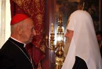 Le cardinal Etchegaray remercie le patriarche de Moscou pour son soutien pendant la maladie