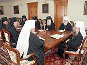Réunion du Saint-Synode de l'Eglise orthodoxe ukrainienne