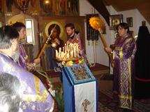 L'icône miraculeuse de la Mère de Dieu de Koursk au monastère Sainte-Trinité de Dompierre