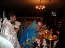 L'icône de la Mère de Dieu de Koursk à l'église des Trois-Saints-Docteurs à Paris
