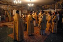 Office des défunts à la mémoire d'Alexandre Soljenitsyne à l'église des Trois-Saints-Docteurs