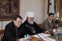 Reprise du travail du Comité consultatif chrétien interconfessionnel de la CEI et des pays baltes
