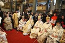 Liturgie commune des primats et représentants des Eglises orthodoxes au Phanar. Réaction du patriarche Alexis