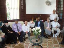Le métropolite Cyrille a rencontré les membres du Conseil d'Eglises chrétiennes de Cuba