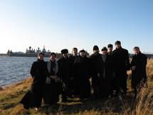 Visite de l'archevêque de Paris aux îles Solovki