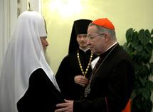 Compte-rendu de la rencontre entre le patriarche Alexis et le cadinal André Vingt-Trois