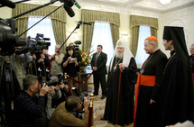 Le cardinal André Vingt-Trois évoque son voyage en Russie à l'Assemblée plénière des évêques de France