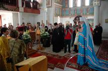 Le métropolite Cyrille a visité la paroisse russe de Johannesbourg