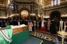 """Catholicos Elie de Géorgie: """"J'ai eu avec le patriarche Alexis des relations particulièrement étroites"""""""