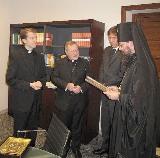 Une délégation de l'Eglise orthodoxe d'Ukraine a rendu visite au cardinal Walter Kasper