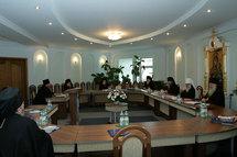 Réunion du Saint-Synode de l'Eglise orthodoxe en Biélorussie