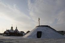 Une église sous forme de Golgotha dans le diocèse de Kémérovo
